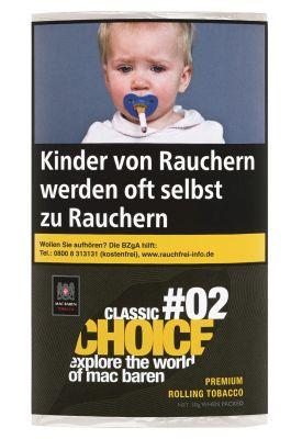 Mac Baren Mac Baren Classic Choice #02 Feinschnitt bei www.Tabakring.de kaufen