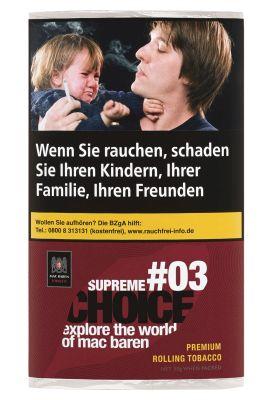 Mac Baren Mac Baren Supreme Choice #03 Feinschnitt bei www.Tabakring.de kaufen