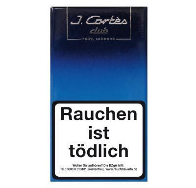 Kohlhase Kopp Cortes Blue Line Club bei Tabakring | Ihr Shop für Tabakwaren und E-Zigaretten kaufen