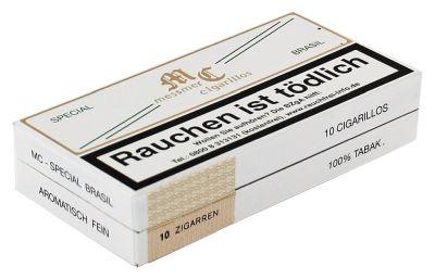 Messmer Kruse Messmer Cigarillos Special Brasil Pappschachtel bei www.Tabakring.de kaufen