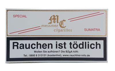 Messmer Kruse Messmer Cigarillos Special Sumatra Pappschachtel bei www.Tabakring.de kaufen