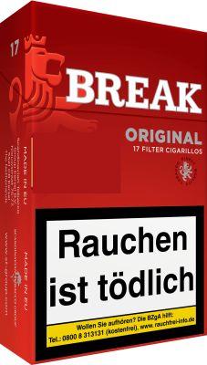 Break Break American Blend Cigarillos Original bei www.Tabakring.de kaufen