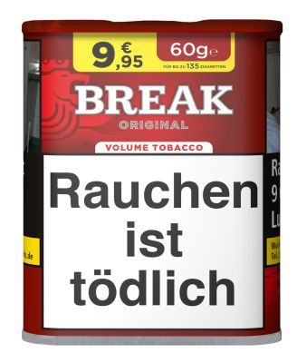 Break Break Original Volumentabak bei www.Tabakring.de kaufen