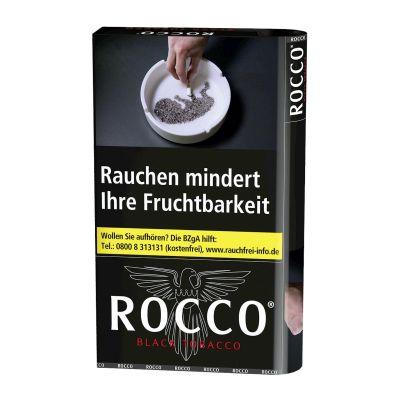 Rocco Rocco Zigarettentabak Black Tobacco bei Tabakring | Ihr Shop für Tabakwaren und E-Zigaretten kaufen