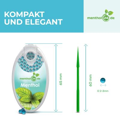 menthol24 Menthol24 Aromakapseln Iced Strawberry bei www.Tabakring.de kaufen