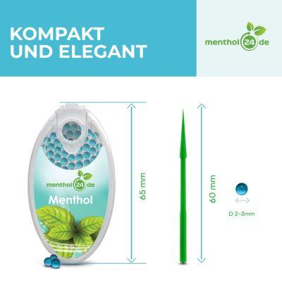 menthol24 Menthol24 Aromakapseln Iced Watermelon bei www.Tabakring.de kaufen