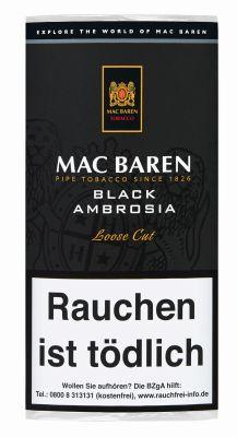 Mac Baren Mac Baren Black Ambrosia bei Tabakring | Ihr Shop für Tabakwaren und E-Zigaretten kaufen