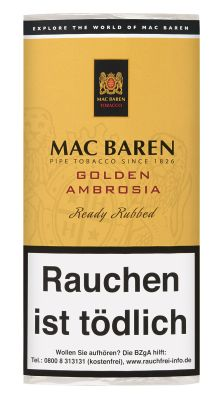 Mac Baren Mac Baren Golden Ambrosia bei Tabakring | Ihr Shop für Tabakwaren und E-Zigaretten kaufen