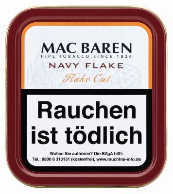 Mac Baren Mac Baren Navy Flake bei www.Tabakring.de kaufen