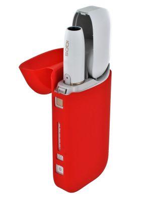 OneCover Silikon Schutzhülle rot passend für IQOS bei www.Tabakring.de kaufen