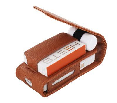 OneCover PU Leder Etui rotbraun passend für IQOS bei Tabakring | Ihr Shop für Tabakwaren und E-Zigaretten kaufen
