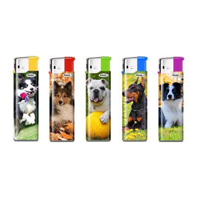 Atomic Feuerzeuge Atomic Elektronik Motiv Hunde bei Tabakring | Ihr Shop für Tabakwaren und E-Zigaretten kaufen
