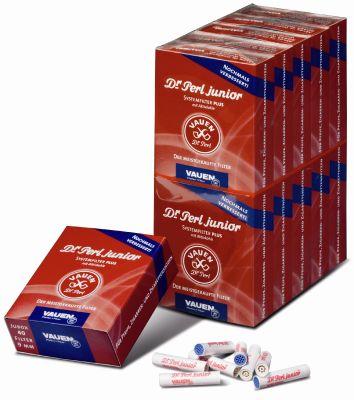 Dr. Perl Dr. Perl Junior Jubox Activekohle Pfeifenfilter 9mm bei www.Tabakring.de kaufen
