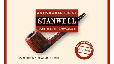 Stanwell Stanwell Aktivkohle Pfeifenfilter 9mm bei www.Tabakring.de kaufen