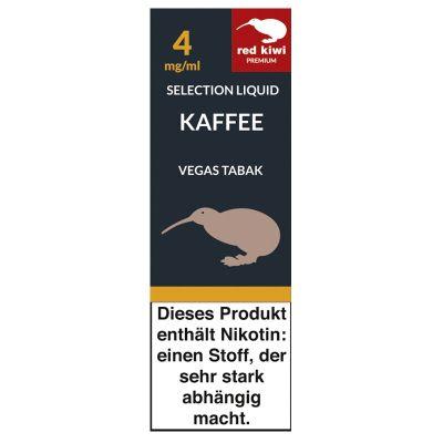 Red Kiwi Red Kiwi eLiquid Selection Kaffee Vegas Tabak 4mg Nikotin/ml bei www.Tabakring.de kaufen
