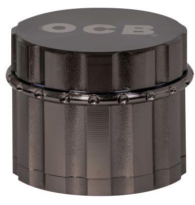 OCB OCB Grinder (silber metallic/schwarz) bei www.Tabakring.de kaufen