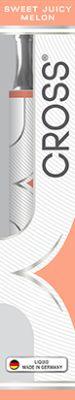 Cross Cross E-Shisha Juicy Melon ohne Nikotin bei Tabakring | Ihr Shop für Tabakwaren und E-Zigaretten kaufen