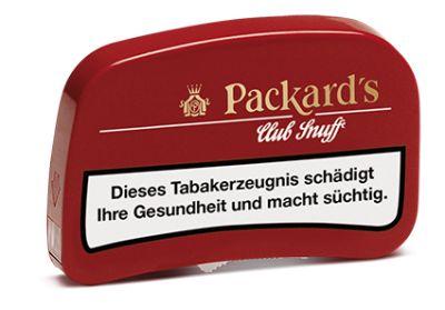 Diverse Packards Schnupftabak Club Snuff bei www.Tabakring.de kaufen