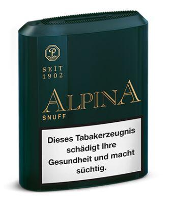Pöschl Alpina Snuff Schnupftabak bei www.Tabakring.de kaufen