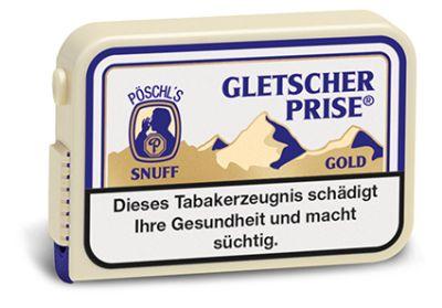 Gletscherprise Gletscherprise Schnupftabak Extra (Gold) Snuff bei www.Tabakring.de kaufen