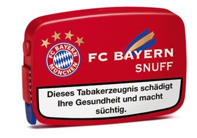 Pöschl FC Bayern Snuff Schnupftabak bei www.Tabakring.de kaufen