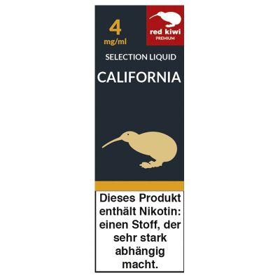 Red Kiwi Red Kiwi eLiquid Selection California 4mg Nikotin/ml bei www.Tabakring.de kaufen