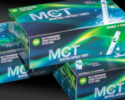 Frutta MCT Menthol Click Capsule Filterhülsen Zigarettenhülsen bei www.Tabakring.de kaufen