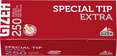 Gizeh Gizeh Special Tip Extra rot Zigarettenhülsen bei www.Tabakring.de kaufen