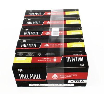 Pall Mall Pall Mall Authentic Red XTRA Zigarettenhülsen bei Tabakring | Ihr Shop für Tabakwaren und E-Zigaretten kaufen