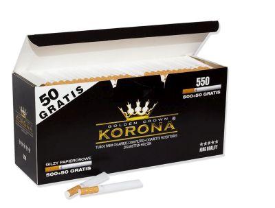 Korona Korona Golden Crown Zigarettenhülsen bei Tabakring | Ihr Shop für Tabakwaren und E-Zigaretten kaufen