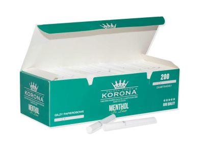 Korona Korona De Luxe Menthol Filterhülsen Zigarettenhülsen bei www.Tabakring.de kaufen