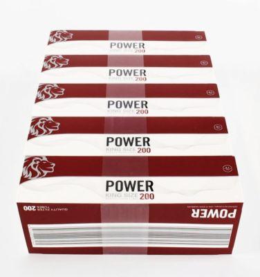 Power Power Zigarettenhülsen King Size 200 bei Tabakring | Ihr Shop für Tabakwaren und E-Zigaretten kaufen