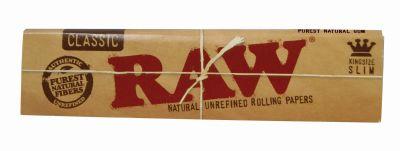 RAW RAW Classic King Size Papier Slim Premium bei www.Tabakring.de kaufen