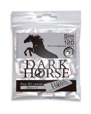 Dark Horse Dark Horse Slim Flilter Glue Line Tips plus 1 1/4 Format Blättchen bei www.Tabakring.de kaufen