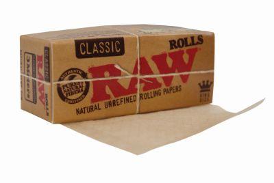 RAW RAW Rolls Classic Papier ungebleicht 3m bei www.Tabakring.de kaufen