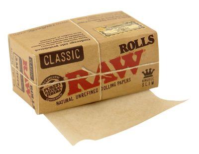 RAW RAW Rolls Classic Zigarettenpapier ungebleicht 5m bei Tabakring | Ihr Shop für Tabakwaren und E-Zigaretten kaufen