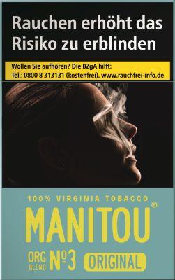Manitou Manitou Original Org Blend No. 3 Sky bei Tabakring | Ihr Shop für Tabakwaren und E-Zigaretten kaufen