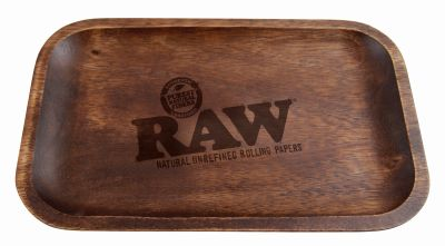 RAW RAW Wooden Tray Drehtablett aus Holz bei www.Tabakring.de kaufen