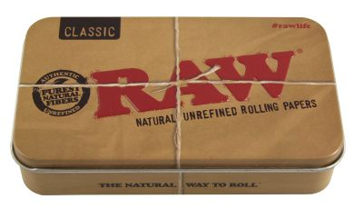 RAW RAW Metall Box Zigarettenetui bei www.Tabakring.de kaufen