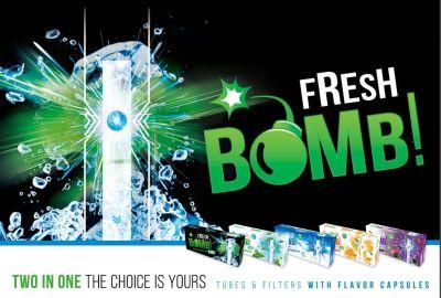 Fresh Bomb Fresh Bomb Duo Arctic Extremely Strongmint Click Zigarettenhülsen bei www.Tabakring.de kaufen