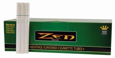 ZEN Zen Menthol 100mm Filterhülsen Zigarettenhülsen bei www.Tabakring.de kaufen