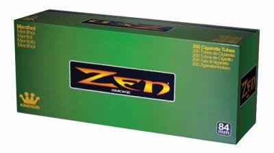 ZEN Zen Menthol 84mm Filterhülsen bei Tabakring   Ihr Shop für Tabakwaren und E-Zigaretten kaufen