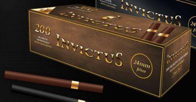 INVICTUS Invictus Brown Gold Ring Extra Zigarettenhülsen bei Tabakring | Ihr Shop für Tabakwaren und E-Zigaretten kaufen