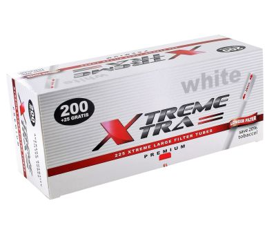 XTREME XTRA Xtrem White Xtra Zigarettenhülsen bei Tabakring | Ihr Shop für Tabakwaren und E-Zigaretten kaufen