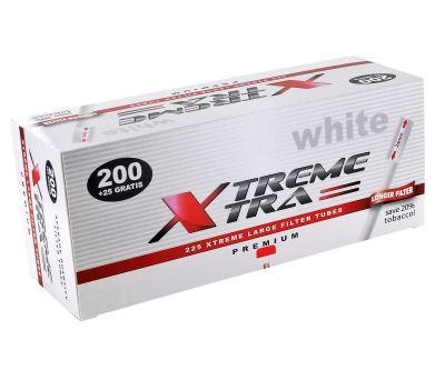 XTREME XTRA Xtrem White Xtra Zigarettenhülsen bei www.Tabakring.de kaufen