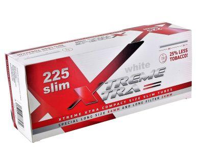 XTREME XTRA Xtrem White Slim Xtra Hülsen bei Tabakring | Ihr Shop für Tabakwaren und E-Zigaretten kaufen
