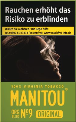 Manitou Manitou Original Org Blend No. 9 Green bei www.Tabakring.de kaufen