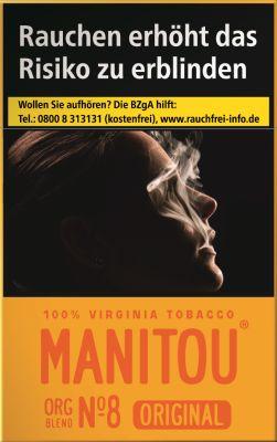 Manitou Manitou Original Org Blend No. 8 Gold bei Tabakring | Ihr Shop für Tabakwaren und E-Zigaretten kaufen