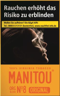 Manitou Manitou Original Org Blend No. 8 Gold bei www.Tabakring.de kaufen