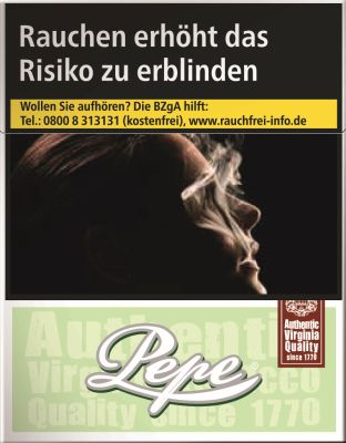 Pepe Pepe Bright (Easy) Green Big Pack bei www.Tabakring.de kaufen